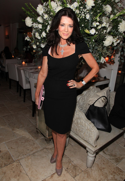 Lisa Vanderpump TV personality Lisa Vanderpump and Villa Blanca Restaurant host memorial for the late Dr. Frank Ryan at Villa Blanca on November 15, 2010 in Beverly Hills, California.