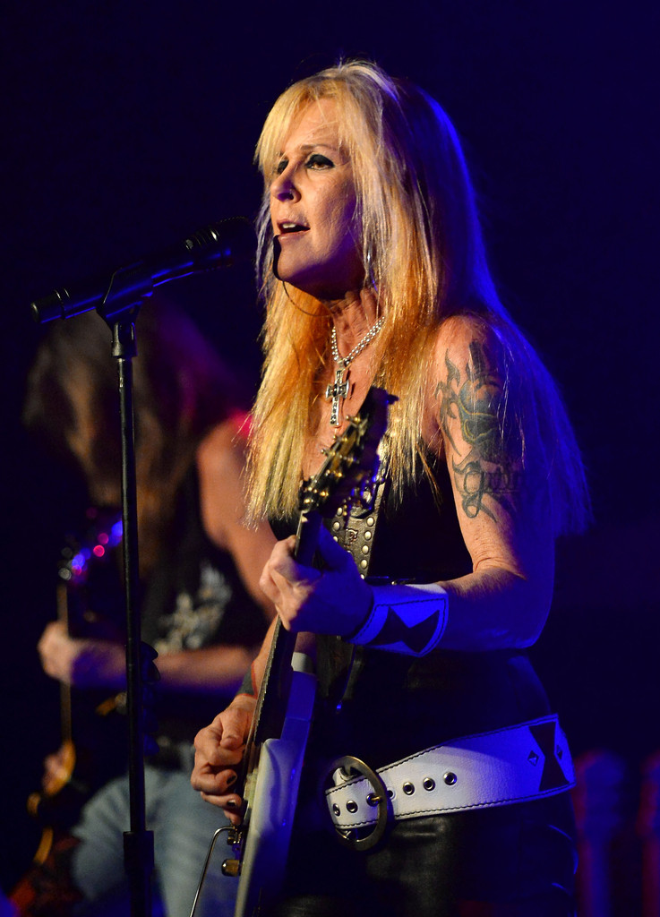 Lita Ford Photos Photos Lita Ford In Concert At Vinyl