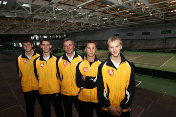 Remigijus Balzekas Lithuania v Great Britain - Davis Cup Previews