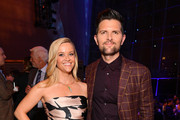 """Reese Witherspoon (L) and Adam Scott attend the """"Big Little Lies"""" season 2 premiere after party on May 29, 2019 in New York City."""