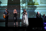 Jimi Westbrook, Kimberley Schlapman, Karen Fairchild and Philip Sweet of Little Big Town perform at Carnegie Hall on January 16, 2020 in New York City.