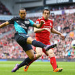 Jose Enrique and Theo Walcott