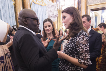 Livia Firth The Commonwealth Fashion Exchange Reception At Buckingham Palace