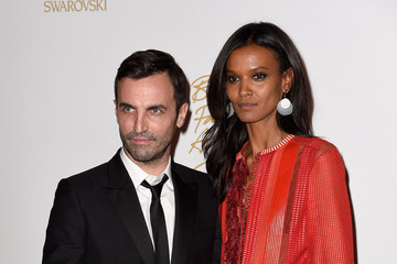 Liya Kebede British Fashion Awards Winners Room