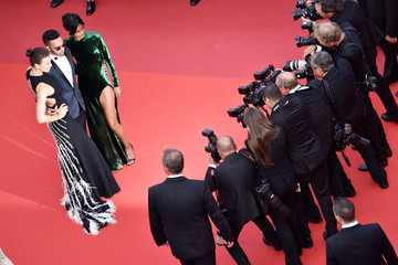 Liya Kebede Irina Shayk 'The Unknown Girl (La Fille Inconnue)' - Red Carpet Arrivals - The 69th Annual Cannes Film Festival