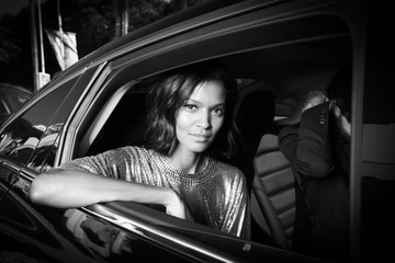 Liya Kebede L'Oreal at the 70th Cannes Film Festival B&W - #Canniversary