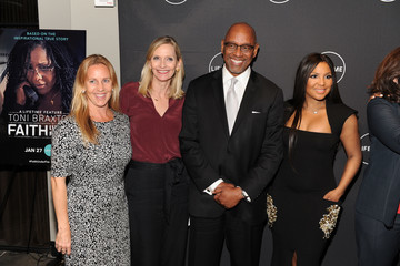 Liz Gateley The Cast and Producers From Lifetime's Film 'Faith Under Fire: The Antoinette Tuff Story' Attend the Red Carpet Screening