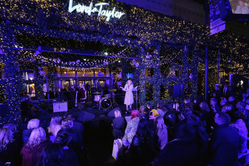 Liz Rodbell Lord & Taylor NYC 2016 Holiday Windows Unveiling With Daya