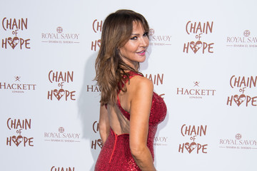 Lizzie Cundy Chain Of Hope Gala Ball - Red Carpet Arrivals