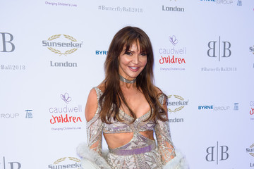 Lizzie Cundy The Caudwell Children Butterfly Ball - Red Carpet Arrivals