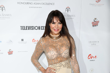Lizzie Cundy The Asian Awards - Red Carpet Arrivals