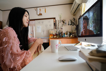 Lizzo People Watch 'One World: Together At Home' In Tokyo