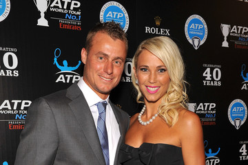 Lleyton Hewitt Bec Hewitt ATP Heritage Celebration - Red Carpet