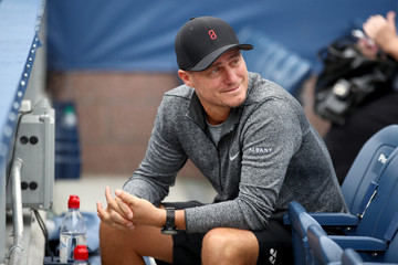 Lleyton Hewitt 2017 US Open Tennis Championships - Day 2