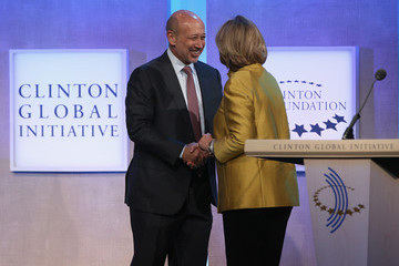 Lloyd Blankfein Clinton Global Initiative