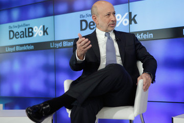 Lloyd Blankfein The New York Times DealBook Conference