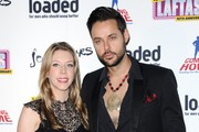Katherine Ryan and Jeff Leach attend the Loaded LAFTA's at Sway on March 7, 2013 in London, England.