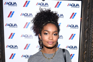 Logan Browning AQUAhydrate Hosts a Private Event at Hyde Staples Center for a Drake and Future Concert