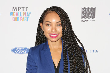 Logan Browning 7th Annual Reel Stories, Real Lives Event Benefiting MPTF