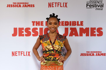 Logan Browning Premiere of Netflix Original Film 'The Incredible Jessica James' at the 2017 Essence Festival
