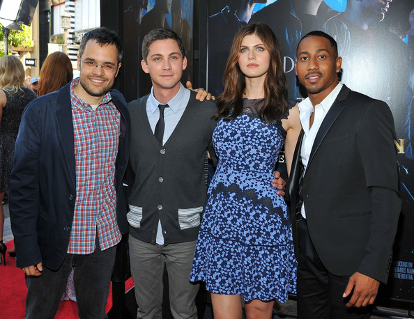 logan lerman and alexandra daddario photos photos