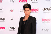 "Singer Adam Lambert  attends Logo's ""NewNowNext Awards"" 2012 at Avalon on April 5, 2012 in Hollywood, California."