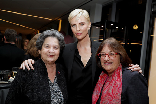 'Bombshell' Special Screening [face,fashion,head,event,lady,beauty,fashion design,eyewear,vision care,haute couture,lois frankel,annie kuster,charlize theron,u.s.,washington dc,mpaa,bombshell special screening]