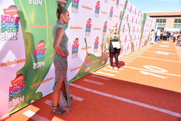 Lolo Jones Arrivals at the Nickelodeon Kids' Choice Sports Awards — Part 2