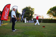 Robert Jones (a) of Manor of Groves Golf Club plays his first shot on the 1st tee during the Lombard Trophy Final Day Two at Pestana Vila Sol Golf Club on September 23, 2016 in Quarteira, Portugal.