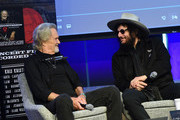 Kris Kristofferson and Recording Artist/Producer Don Was attend A Look Into The Life & Songs Of Kris Kristofferson at The Steps at WME on October 26, 2017 in Nashville, Tennessee.