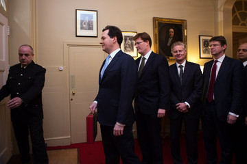 Lord Deighton George Osborne Prepares to Deliver the Budget