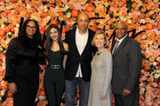 (L-R) Shermaine Croney, Victoria Justice, John Starks, Liz Rodbell and Michael Pollard attend the Lord & Taylor Stamford Grand Re-Opening celebration on December 1, 2016 at Lord & Taylor Stamford in Stamford, Connecticut.