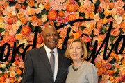 Chief of Staff for the City of Stamford Michael Pollard and President of Lord & Taylor and Hudson's Bay Liz Rodbell attend the Lord & Taylor Stamford Grand Re-Opening celebration on December 1, 2016 at Lord & Taylor Stamford in Stamford, Connecticut.