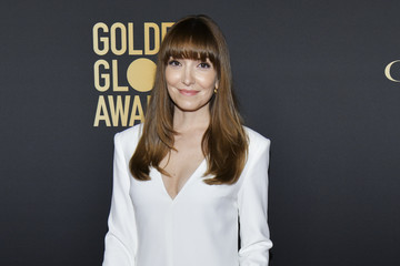 Lorene Scafaria HFPA And THR Golden Globe Ambassador Party - Press Conference And Arrivals