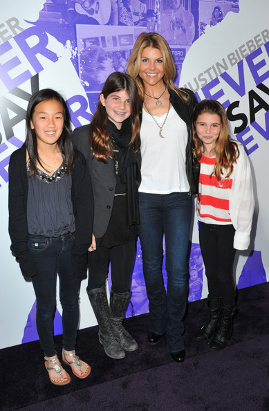 Lori Loughlin and family