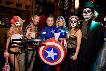Lori Levine Moto X Presents Heidi Klum's 15th Annual Halloween Party Sponsored By SVEDKA Vodka At TAO Downtown - Inside