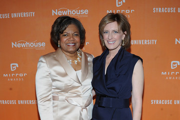 Lorraine Branham Celebs Arrive at the Newhouse Mirror Awards