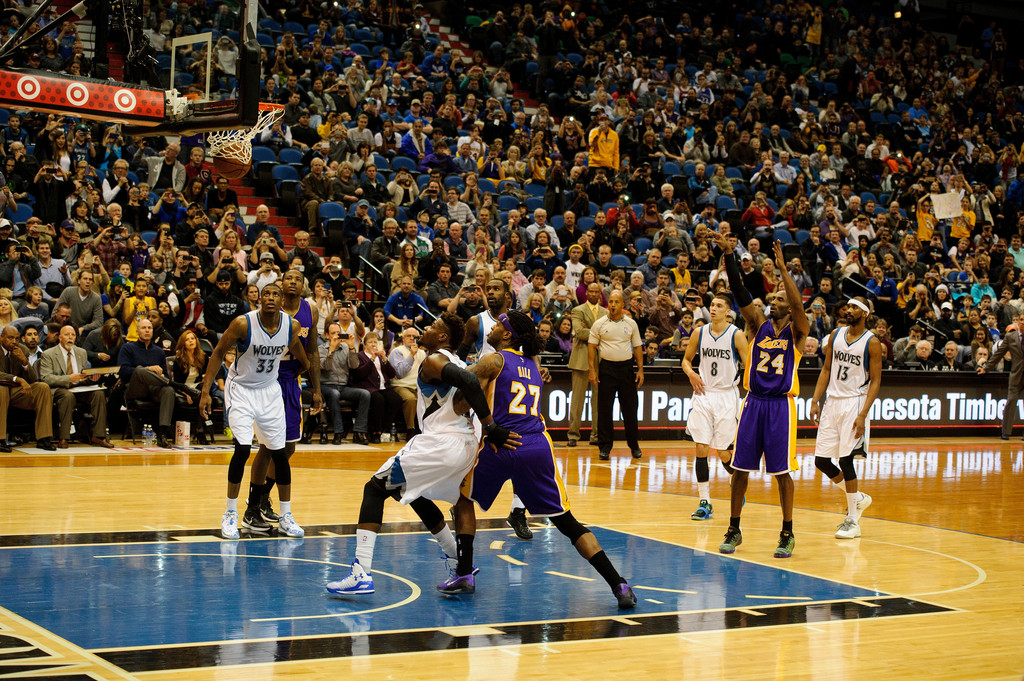 los angeles lakers minnesota timberwolves