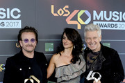 Bono and Penelope Cruz Photos Photo