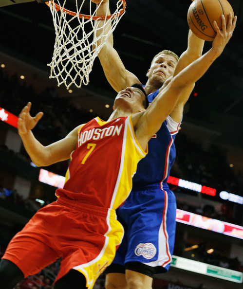 Blake Griffin In Los Angeles Clippers V Houston Rockets