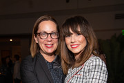 Liza Johnson and Linda Cardellini attend 'Los Angeles Confidential Magazine celebrates the Emmys with Linda Cardellini' at Kimpton Everly Hotel on September 18, 2019 in Los Angeles, California.