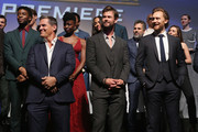 Actors Josh Brolin, Chris Hemsworth, Tom Hiddleston and cast & crew of 'Avengers: Infinity War' attend the Los Angeles Global Premiere for Marvel Studios' Avengers: Infinity War on April 23, 2018 in Hollywood, California.