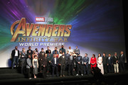 Cast & Crew of 'Avengers: Infinity War' attend the Los Angeles Global Premiere for Marvel Studios? Avengers: Infinity War on April 23, 2018 in Hollywood, California.