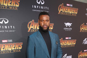 Actor Winston Duke attends the Los Angeles Global Premiere for Marvel Studios' Avengers: Infinity War on April 23, 2018 in Hollywood, California.