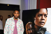 "Trey Songz attends the Los Angeles Influencer Special Screening of Sony Pictures' ""BLACK AND BLUE,"" hosted by Terrence J and Director Deon Taylor at ArcLight Hollywood on October 17, 2019 in Hollywood, California."