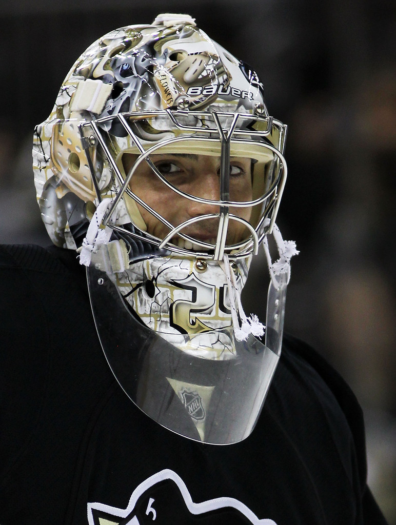 Marc-Andre Fleury Photos Photos - Los Angeles Kings v ...