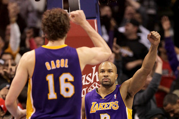 Derek Fisher Los Angeles Lakers v Los Angeles Clippers