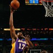Andew Bynum Los Angeles Lakers v New Orleans Hornets