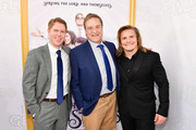 """Tim Baltz, John Goodman and Tony Cavalero attends the Los Angeles premiere of New HBO Series """"The Righteous Gemstones"""" at Paramount Studios on July 25, 2019 in Hollywood, California."""