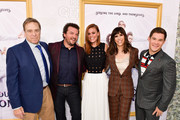 John Goodman, Danny McBride, Cassidy Freeman, Edi Patterson and Adam DeVine attends the Los Angeles premiere of New HBO Series 'The Righteous Gemstones' at Paramount Studios on July 25, 2019 in Hollywood, California.